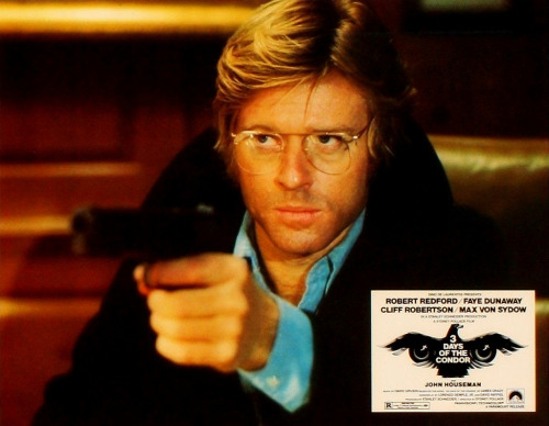 Robert Redford in 3 Days of the Condor (1975) (by Greenman 2008)