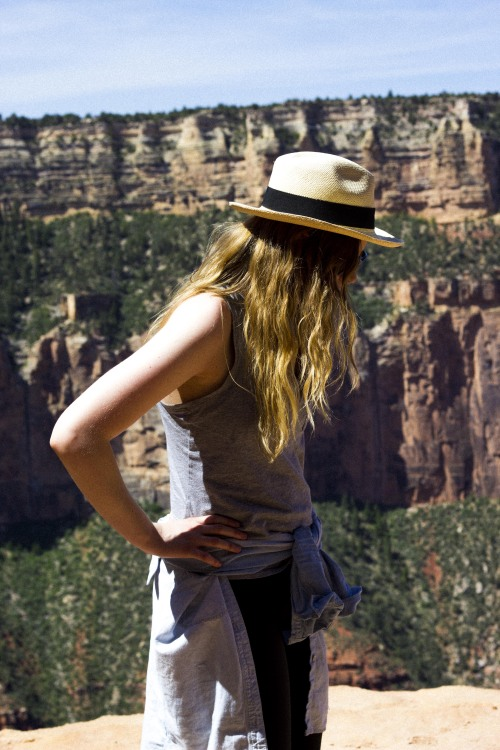 Lauren in the Grand Canyon