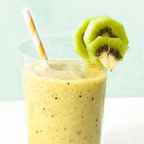 Daily Bite: Wake your mornings with our tropical Kiwi-Pineapple Smoothie.