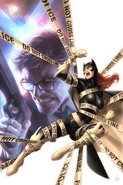 super-hero-center:  Batgirl No. 23 by *AlexGarner  WOW WHAT A COVER!!