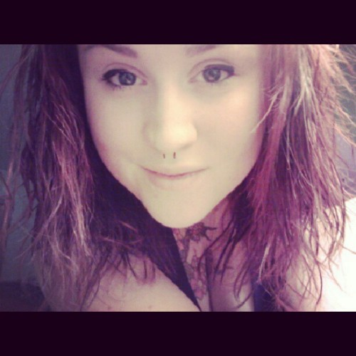 #redhair #piercings  #tattoos  #ink #lesbian #septum