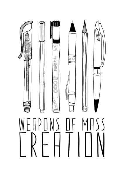 Weapons of Mass Creation.
