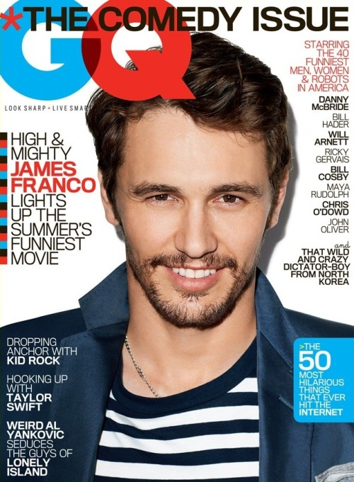 GQ US JUNE 2013James Franco by Terry RichardsonCLICK HERE TO SEE FULL EDITORIAL ON GLOSSYNEWSSTAND.COM