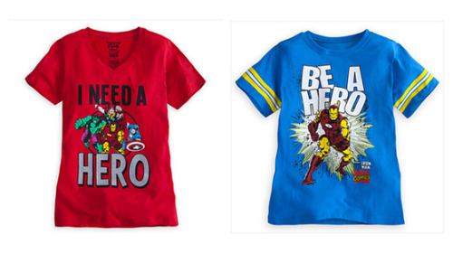 Avengers fans petition Disney to dump sexist T-shirts