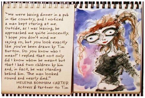 From 'The Art of Tim Burton'