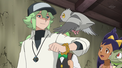 therandominmyhead:  Next week on anipoke: Proof that N is the newest Disney PrNcess(For best effect listen to this or this while viewing)