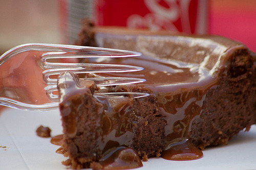 cravingsforfood:  Chocolate cheesecake.