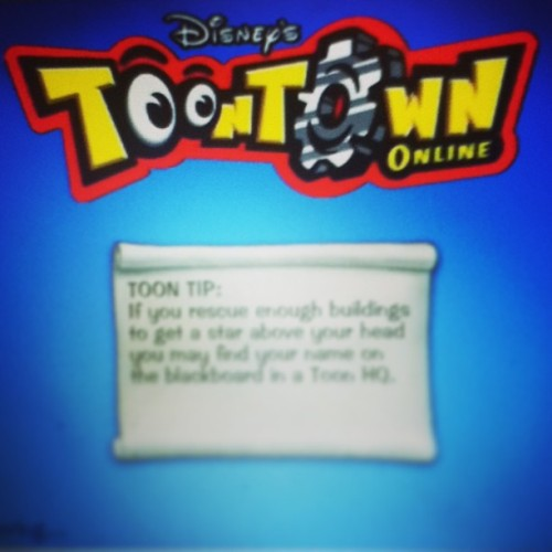 This is what I do when I have free time. #toontown #disney #games #online #hardcorethug #thuglife