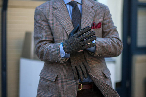 brokeandbespoke:  Tweed x 3