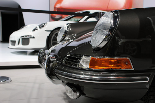 First & Last: Porsche Celebrates 50 Years of the 911 To celebrate 50-years, Porsche showed off the new GT3 alongside Jerry Seinfeld's own immaculate 911, the first one imported into the U.S. They're both beautiful in their own ways. Which would you choose if you were given the option?