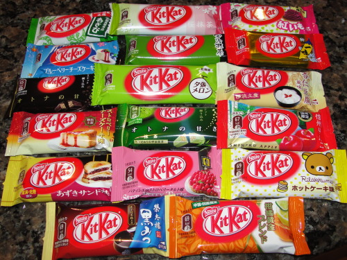 brutu:  theres so many kitkats ive never had im crying   dammit japan