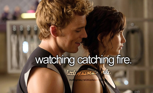 I can't wait for catching fire to come out! Who is excited?!