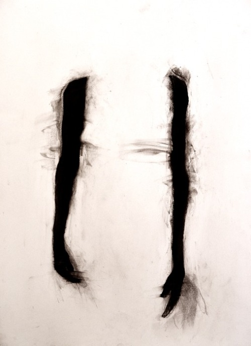mydarkenedeyes:  Harry Ally - Study For Two Arms (2012)
