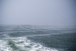 zweitfraulove:   During our cruise with the ferry, it started to rain again. I don't know why, but I love this picture.