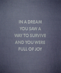 nevver:  In a Dream You Saw a Way to Survive and You Were Full of Joy