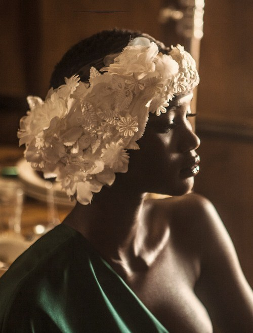 lik-usya:  Shooting the divine Ataui Deng for I Love You Magazine  (lik-usya's edit; COLOR Series JAN 2013)