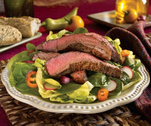 Watch Chef Lance Youngs cook up a Certified Angus Beef Steak Salad in this week's video recipe and you could WIN 2 packages of John Soules Foods Certified Angus Beef Steak Strips!  Subscribe to our Youtube channel and leave a comment for Chef Lance to qualify. A winner will be randomly selected next Monday! Good luck and happy eating! Video here -> http://bit.ly/15kq527