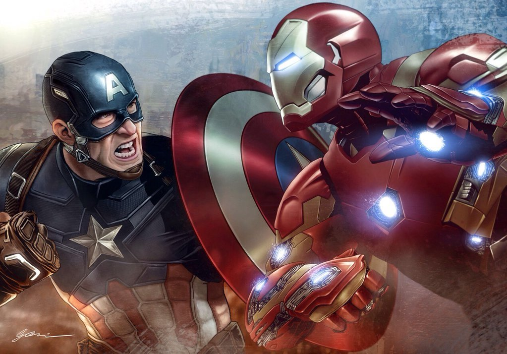 Captain America: Civil War by Fernando Goni
