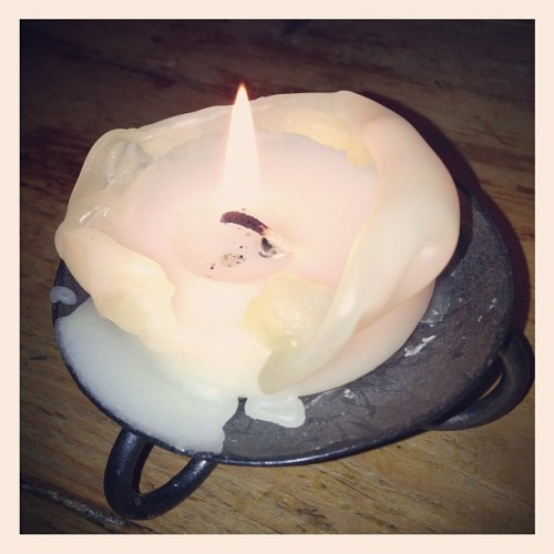 Candle light #candle #fire #vintage #vanilla