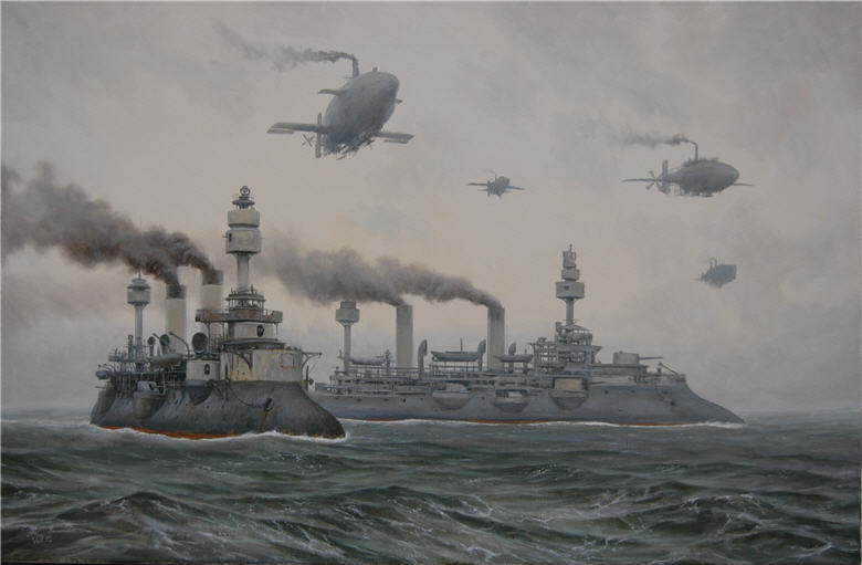 Fleet at sea by *voitv