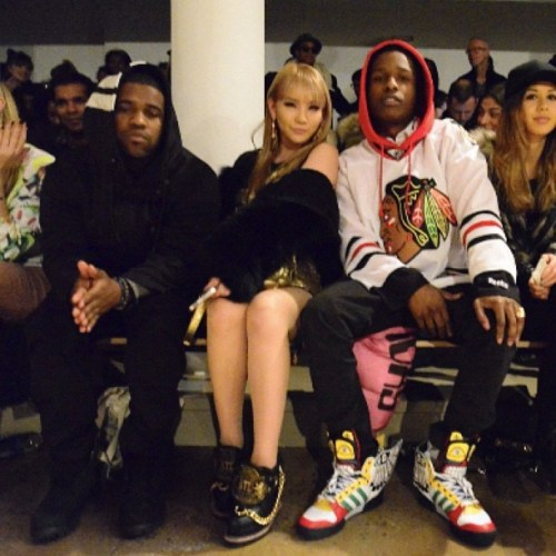 thetremendousone:  ASAP Ferg x CL x A$AP Rocky x Jeremy Scott fashion show  completely unnecessary, but i feel like i need a pair of wings