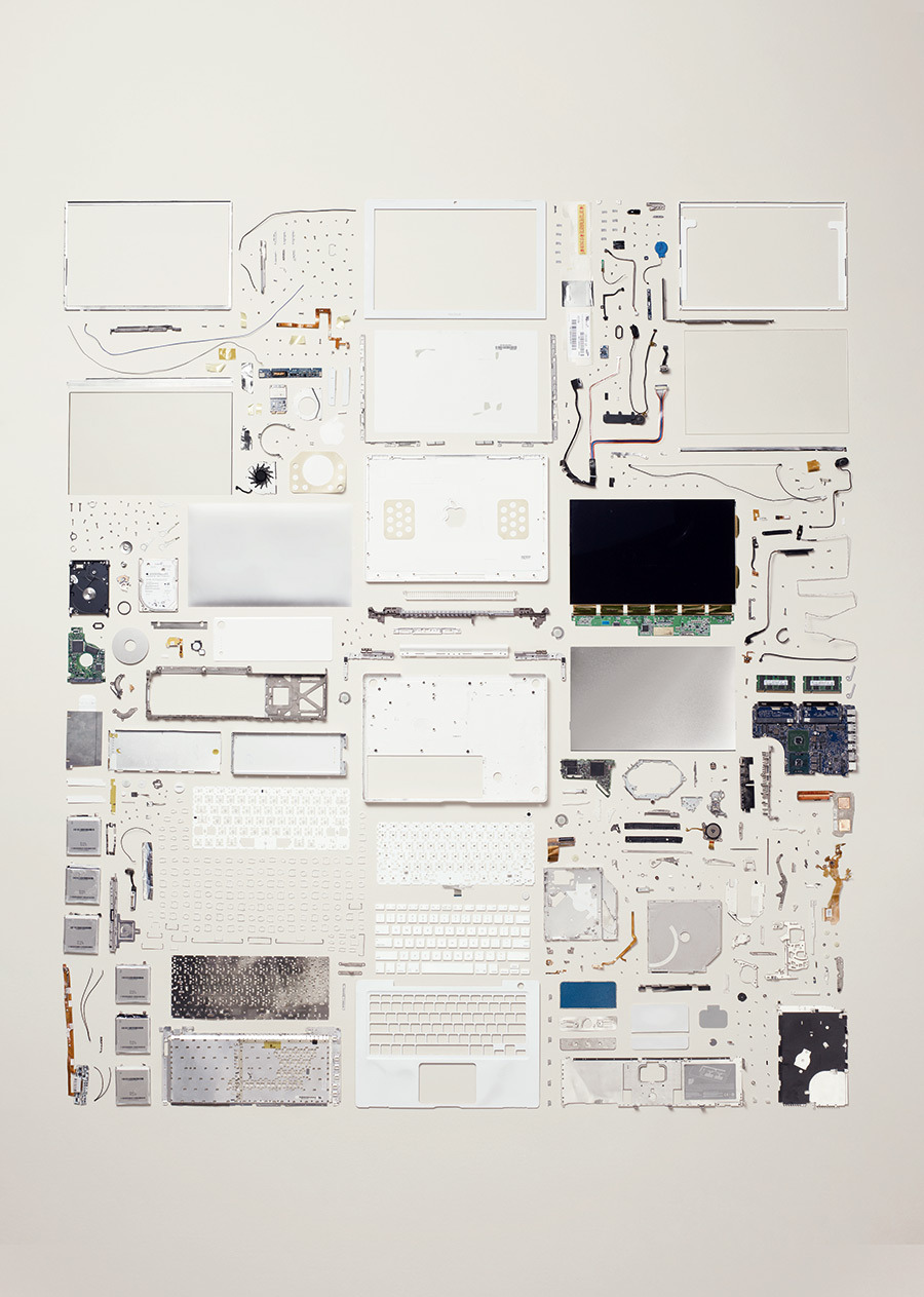 Laptop from Todd Mclellan's book 'Things Come Apart'