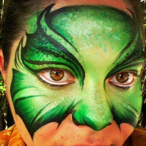 #monster #mask #facepaint