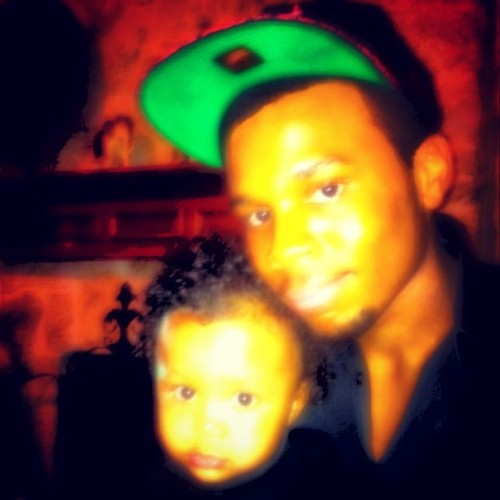 Me an My Nephew Ty Jr #allblackeverything