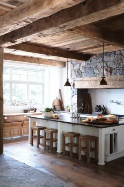 freepeople121:  This could be my dream kitchen!
