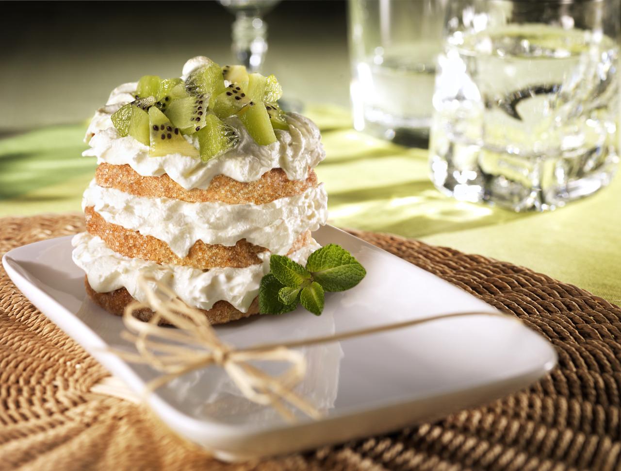 claudiadelbianco:  Kiwi Dessert