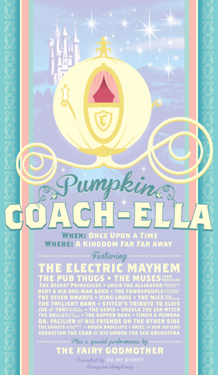 fancysomedisneymagic:  Coachella à la Disney (X)