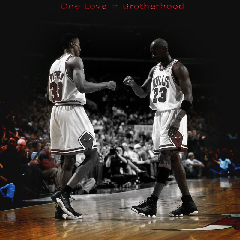 makejs:  One Love = Brotherhood  I love it