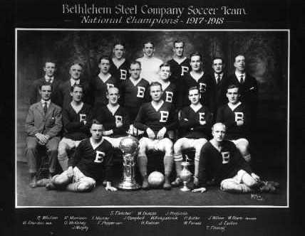 Bethlehem Steel, National Champions 1917-1918.