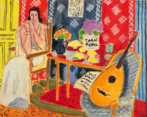 i12bent:  Henri Matisse: Tabac Royal, 1943 - oil on canvas