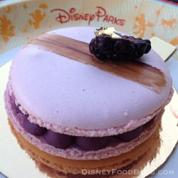 disneyfoodblog:  BoardWalk Bakery blackberry macaron #DisneyWorld #FancyPants