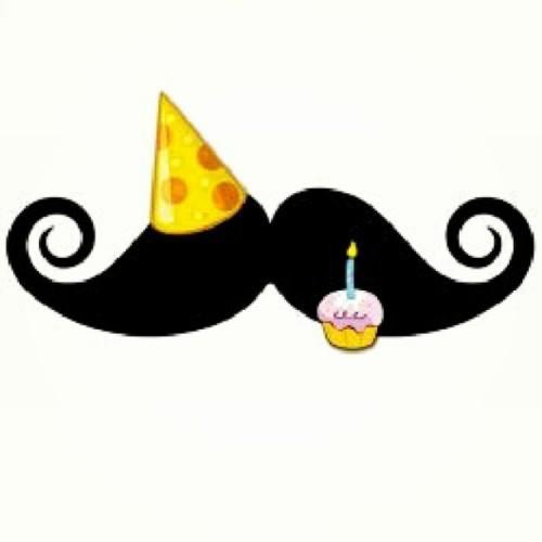 Every mustache has its day. Today is mine! #happy26