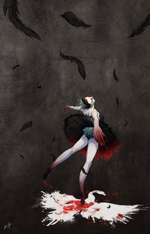 The Black Swan by Kim Herbst