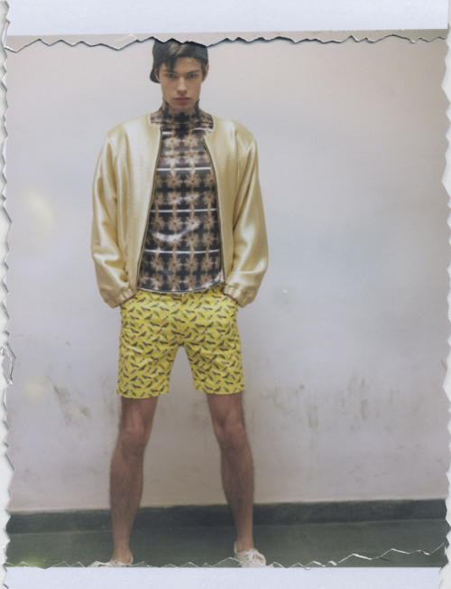 mensfashionworld:  Niclas Huntelmann at Modelwerk by Alexandra Waespi for Fucking Young!