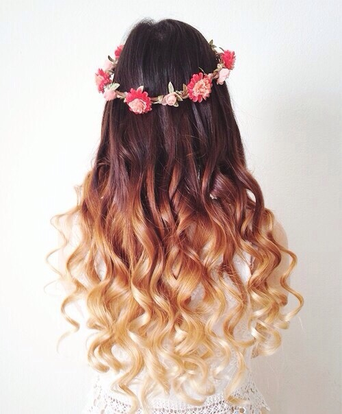 Hair Fashion Blog Girly Curly Hair Hairstyles Ombre Ombre