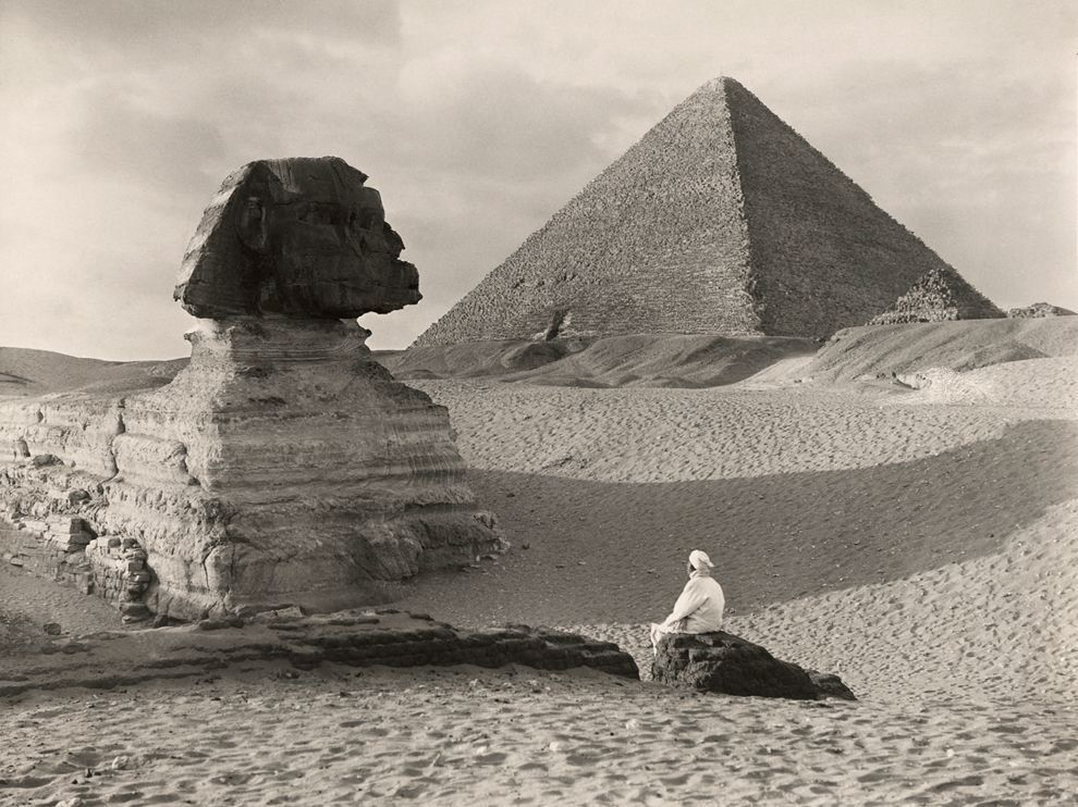 lostinamerica:   National Geographic, 1921  Great Sphinx, Egypt - Donald McLeish