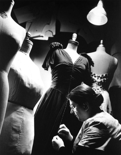 lauramcphee:  Bergdorf Goodman workshop, 1933 (Anton Bruehl)