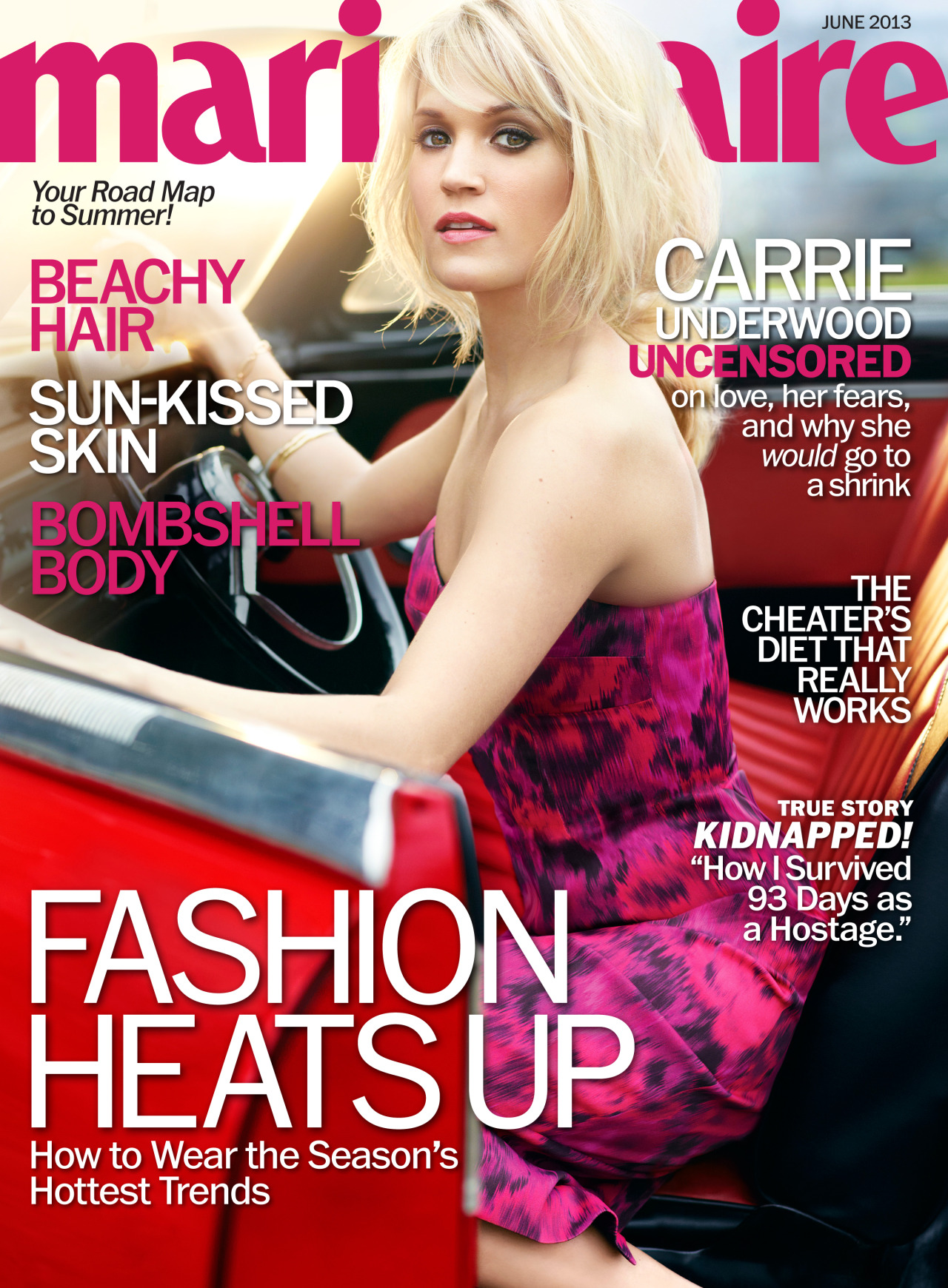 MARIE CLAIRE - JUNE 2013 (Carrie Underwood)
