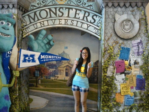 SOMEONE TAKE ME TO SEE MONSTERS UNIVERSITY WHEN IT COMES OUT NEXT MONTH!