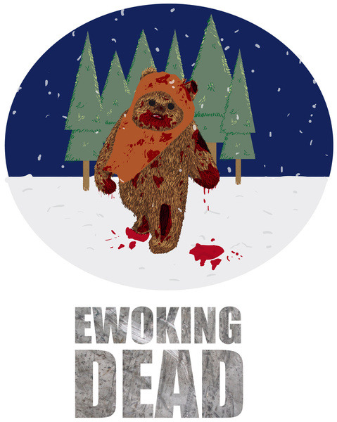 theinevitablezombieapocalypse:  Zombies: The Ewoking Dead