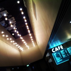 The new bar/ cafe at barbican.  (at Barbican Cinemas 2&3)