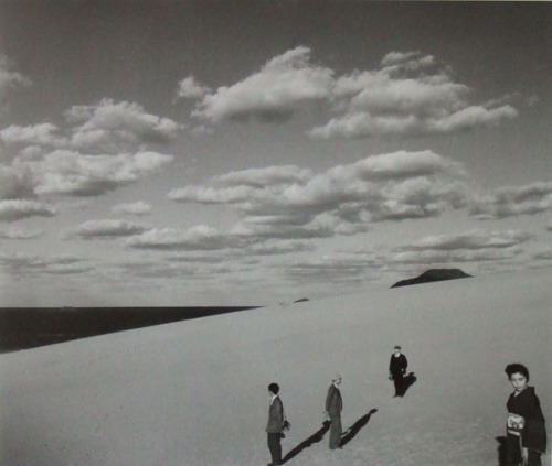 Ueda Shoji, My Wife in the Dunes, 1950