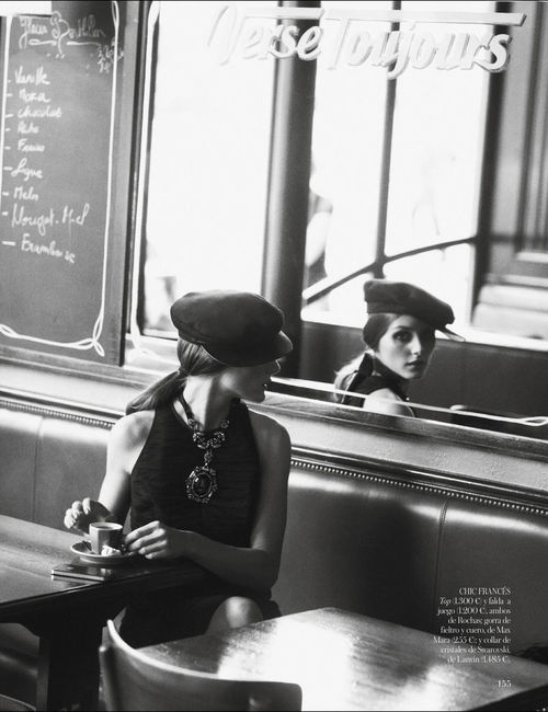 thursdayfilecoffee:  Olivia Palermo for Vogue Spain January 2013