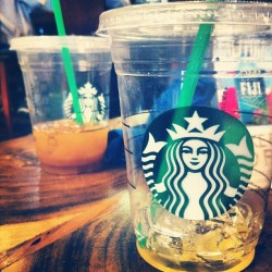Coffeeee☕ #starbucks #addicted