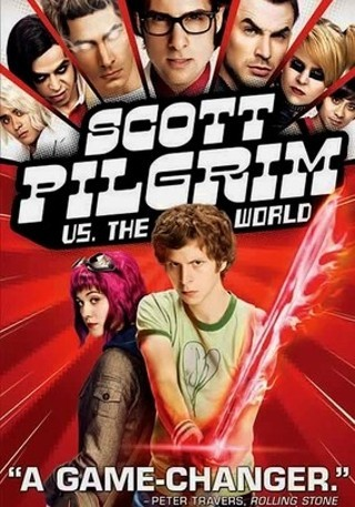 "I'm watching Scott Pilgrim vs. The World    ""Blu-Ray With commentary from Edgar Wright and Bryan Lee O'Malley""                      Check-in to               Scott Pilgrim vs. The World on GetGlue.com"