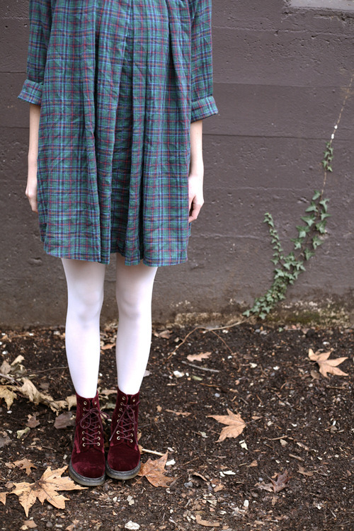 a new blog post: a dress for december